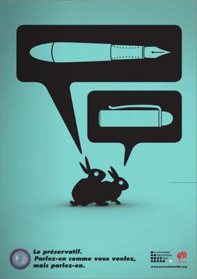 campagne été sida 2010 stylo