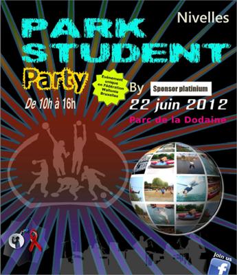 park student party affiche