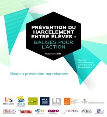 Prévention du harcèlement entre élèves : balises pour l'action