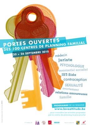 Affiche planning porte ouverte 2010