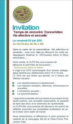Sexcursion 24 juin invitation
